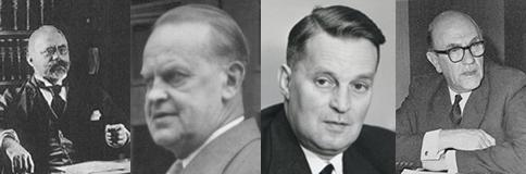 plastic inventors: Hans von Pechmann, EricFawcett, Reginald Gibson และ Michael Perrin